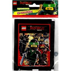 Lego ninjago movie 25 наклеек