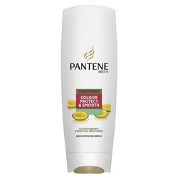 Кондиционер, Pantene pro v colour protect smooth, 200 г.