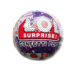 Кукла в шаре LOL Surprise Confetti Pop, 10 см